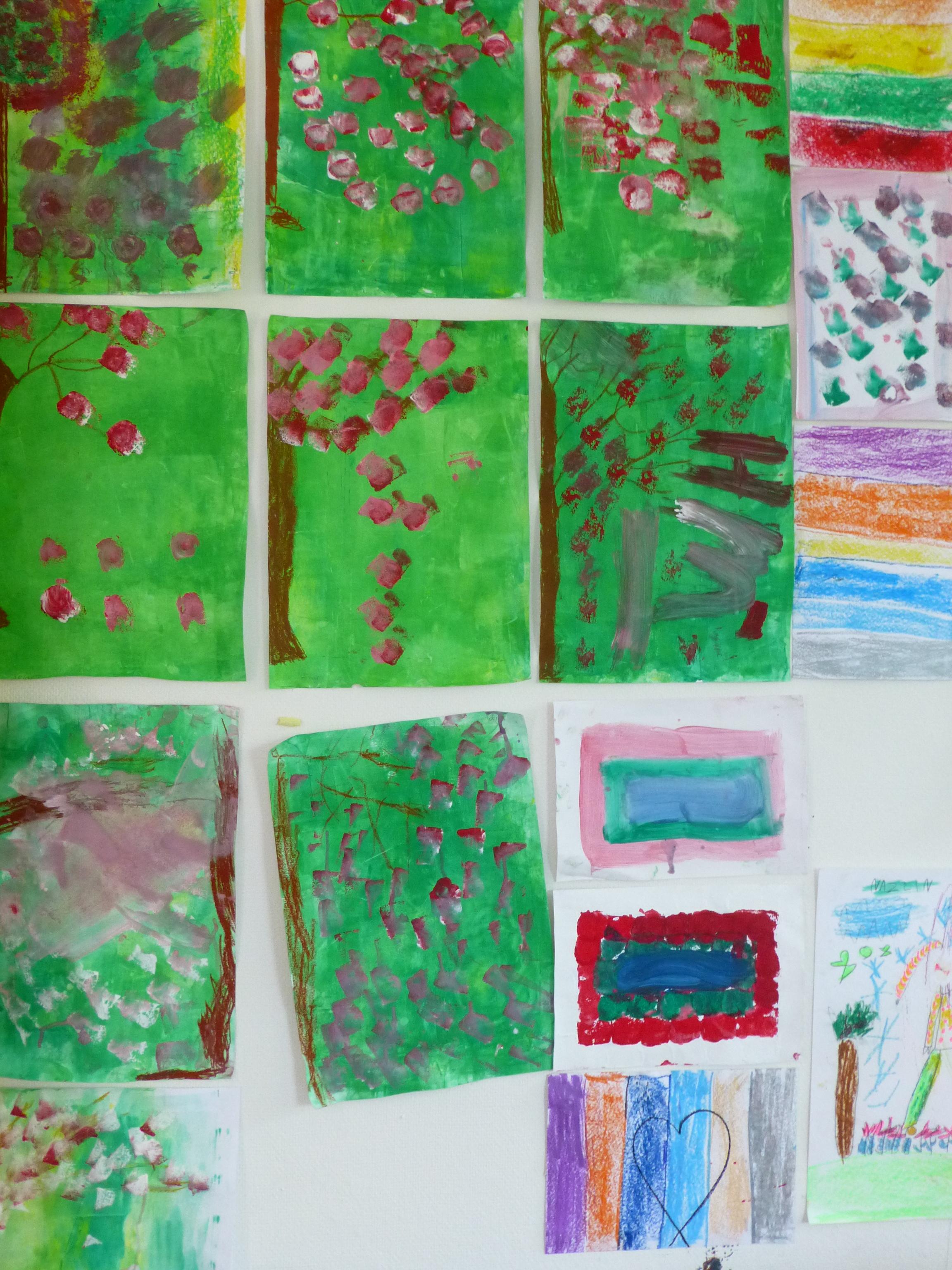 Kunstprojekt für geflüchtete Kinder Wirtschaftsjunioren Hamburg bei der Handelskammer -4